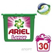 Фото Ariel Капсулы для стирки Автомат Touch of Lenor Fresh 30 шт
