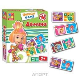 Vladi Toys Фикси-игры Домино (укр) (VT2107-01)