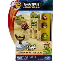 Hasbro Angry Birds Star Wars Jenga Сражение (A2844)