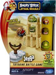 Фото Hasbro Angry Birds Star Wars Jenga Сражение (A2844)