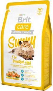 Фото Brit Care Cat Sunny I've Beautiful Hair 2 кг