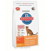 Фото Hill's Science Plan Feline Adult Optimal Care with Chicken 15 кг