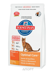 Фото Hill's Science Plan Feline Adult Optimal Care with Chicken 5 кг