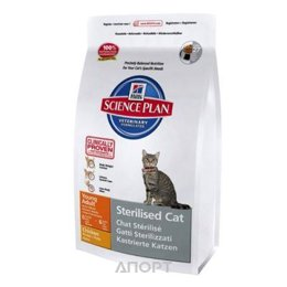 Hill's Science Plan Feline Young Adult Sterilised Cat Chicken 0,3 кг