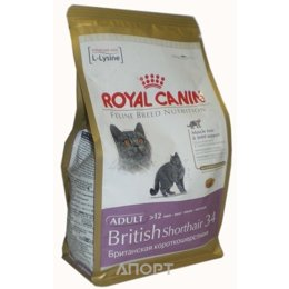 Royal Canin British Shorthair 34 Adult 0,4 кг