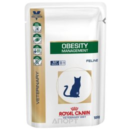 Royal Canin Obesity Management 0,1 кг Блок 12 шт