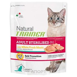 Trainer Natural Adult Sterilised White Meat 1,5 кг