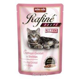 Animonda Rafine Soupe Kitten (птица и креветки) 100 г