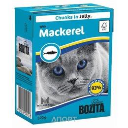 Bozita Feline кусочки в желе со скумбрией 370 г