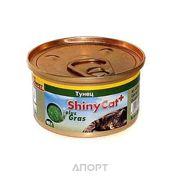 Фото Gimpet ShinyCat тунец с травой 70 г