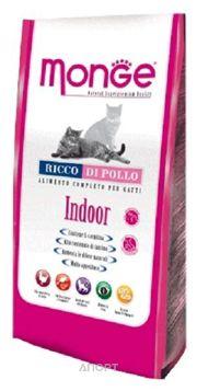 Фото Monge Indoor для домашних кошек 10 кг