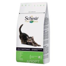 Schesir Maintenance сухой корм для кошек (с ягненком) 400 г