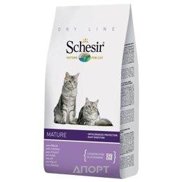 Schesir Mature сухой корм для пожилых кошек (с курицей) 1,5 кг
