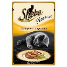 Sheba Курица, кролик 85 гр