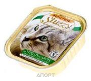 Фото Stuzzy Cat консервы для кошек с телятиной и морковью 100 гр