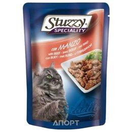 Stuzzy Speciality консервы для кошек с говядиной 100 гр