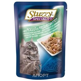 Stuzzy Speciality консервы для кошек с курицей и ветчиной 100 гр