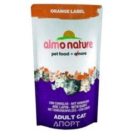 Almo Nature Orange Label Adult Cat Rabbit 0,105 кг