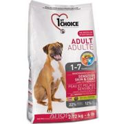 Фото 1st CHOICE Adult All Breeds - Sensitive skin & coat 15 кг