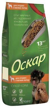 Фото Оскар Сухой корм для собак средних и малых пород 13 кг