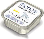 Фото Monge Monoproteico Solo Паштет из курицы 150 г