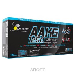 Olimp Labs AAKG 1250 Extreme Mega Caps 120 caps