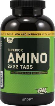 Фото Optimum Nutrition Superior Amino 2222 Tabs 160 tabs