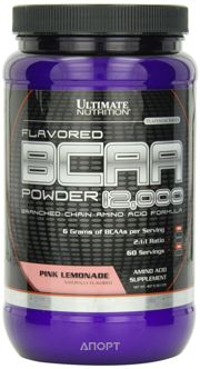 Фото Ultimate Nutrition BCAA 12.000 Powder 457g