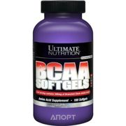 Фото Ultimate Nutrition BCAA Softgels 500Mg 180 caps