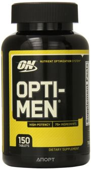 Фото Optimum Nutrition Opti-Men 150 tabs