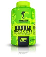 Фото MusclePharm Arnold Iron Cuts 40 Servings (120 caps)