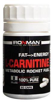 Фото Ironman L-Carnitine 60 caps