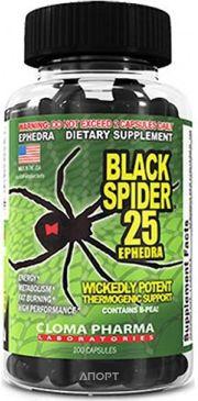 Фото Cloma Pharma Black Spider 100 caps