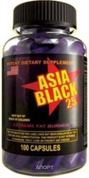 Фото Cloma Pharma Asia Black 25 caps