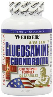 Фото Weider Glucosamine and Chondroitin 120 caps