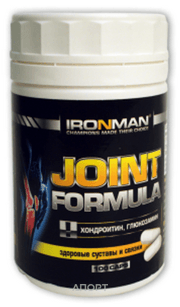 Фото Ironman Joint Formula 100 caps