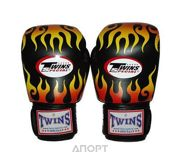Фото TWINS Fire Flame Boxing Gloves FBGV-7