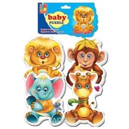 Vladi Toys Беби пазлы Зоопарк (VT1106-10)