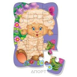 Vladi Toys Магнитные пазлы Овечка (рус) (VT3205-32)