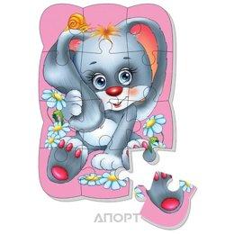 Vladi Toys Магнитные пазлы Зайчик (рус) (VT3205-34)