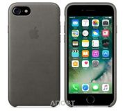 Фото Apple iPhone 7 Leather Case - Storm Gray (MMY12)