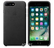 Фото Apple iPhone 7 Plus Leather Case - Black (MMYJ2)