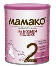 Фото МАМАКО Молочная смесь на основе козьего молока 2, 6-12 мес. 400 г