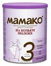 Фото МАМАКО Молочная смесь на основе козьего молока 3, с 12 мес. 400 г