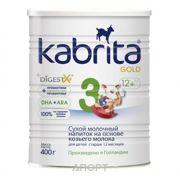 Фото Kabrita Молочная смесь 3 Gold с 12 месяцев, 400 г