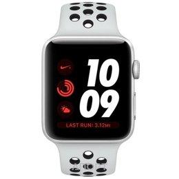 Apple Watch Series 3 Nike+ (GPS) 38mm Silver Aluminum w. Pure Platinum/BlackSport B. (MQKX2)