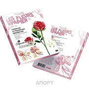 Фото Фантазер Набор для творчества Плетение из бумаги Страстная роза (957002)