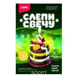 """Lori Восковая свеча """"Праздничный торт"""" (Св-007)"""