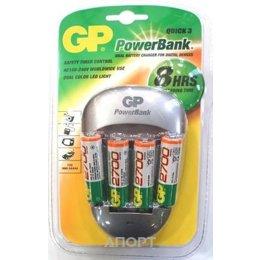 GP Batteries PowerBank Quick 3 PB27GS